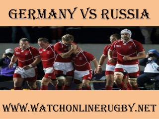 watch Germany vs Russia online
