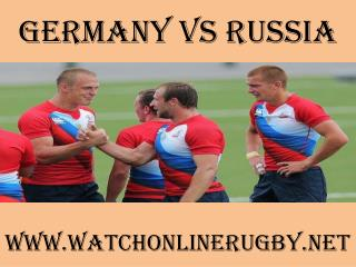 watch Germany vs Russia online rugby match