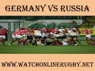 2015 Germany vs Russia live rugby match