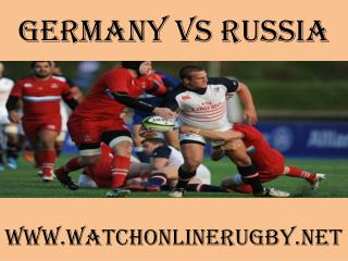 watch here online Germany vs Russia live coverage