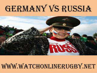 watch Germany vs Russia live stream