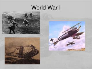 Causes of World War I and United States Entry