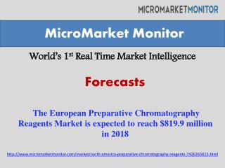 The European Preparative Chromatography Reagents Market is e