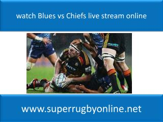 watch Blues vs Chiefs live stream online