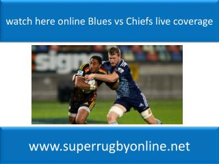 watch here online Blues vs Chiefs live coverage