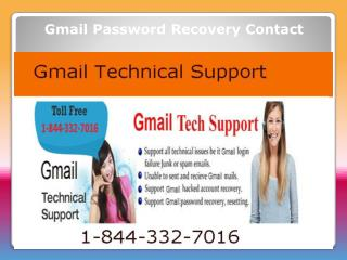 Gmail Password Support Contact Number 1-844-332-7016 USA