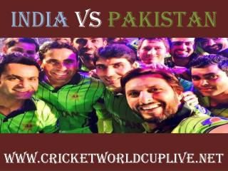 India vs Pakistan, Live Streaming, HD, ICC Cricket World cup
