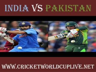 India vs Pakistan live cricket match