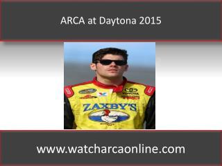 Watch ARCA Lucas Oil 200