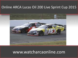 Watch ARCA at Daytona 2015 Online