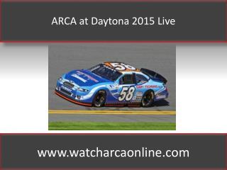 Online ARCA Lucas Oil 200 Live Sprint Cup 2015