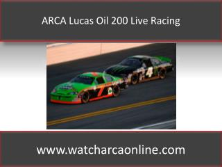 ARCA at Daytona 2015 Live
