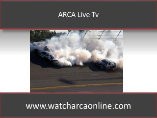 ARCA Lucas Oil 200 Live Racing