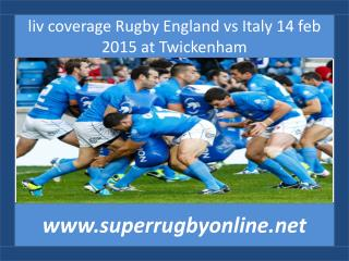 watch Italy vs England online live rugby sports