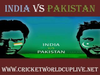 watch India vs Pakistan live cricket match online feb 15