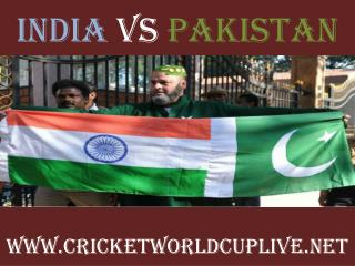 ((( India vs Pakistan ))) Live cricket stream