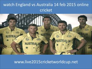 looking Cricket india vs pakistan 15 feb 2015 at Adelaide Au