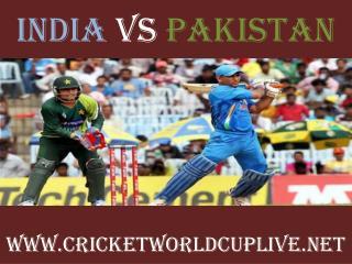 WC 2015 LIVE MATCH ((( India vs Pakistan )))