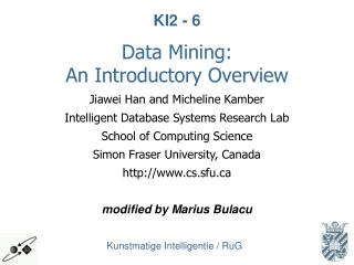 Data Mining: An Introductory Overview