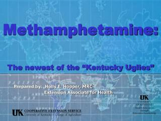 Methamphetamine:    The newest of the  Kentucky Uglies