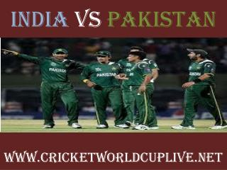 pakistan vs india-wc live