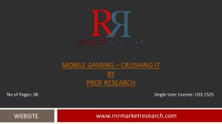 2018 Gaming Mobile Industry Research Report