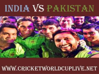 live cricket match pakistan vs india 15 feb 2015
