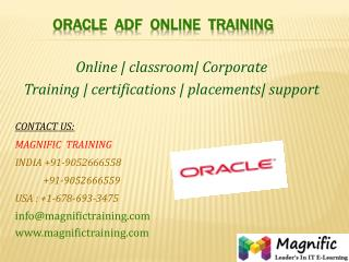 oracle adf online training classes