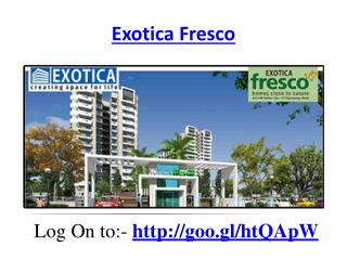 Exotica Fresco Property In Noida