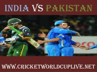 watch pakistan vs india cricket match in Adelaide aus..