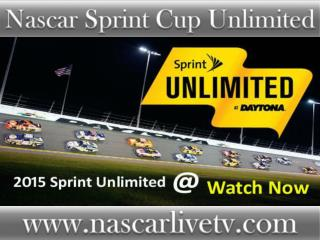 Watch Nascar Sprint Unlimited 2015