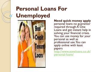 Instant approval Tenant Loans UK
