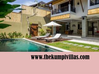 Private luxury villa Bali