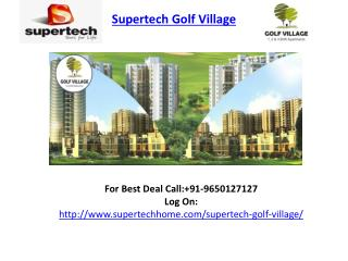 Supertech Golf Village Residential Project