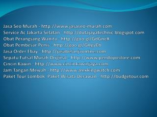 Jasa Seo Murah - www.jasaseo-murah.com