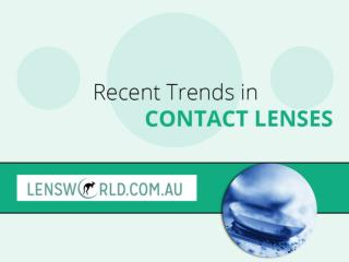Recent Trends in Australian Contact Lenses