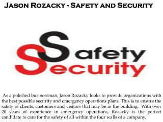 Jason Rozacky - Professional Security Consultant