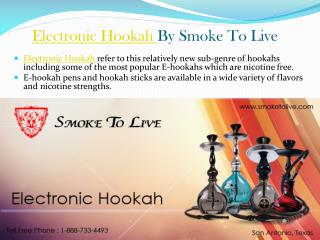 Electronic Hookah By Smoke To Live