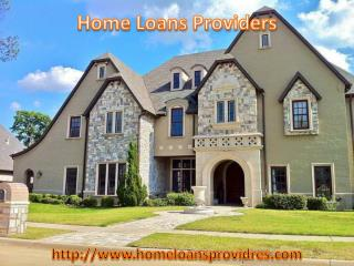 More information about Home Loans Providers in USA