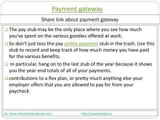 How To Choose A Quality Web from payment gteway