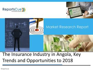 Insurance Market in Angola: Global Trends, Industry Analysis