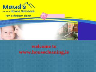 Avail Wonderful Cleaning Service by a Reliable Cleaning Comp