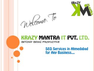 SEO Services in Ahmedabad for Any Business...