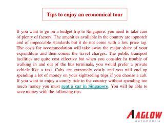 Tips to enjoy an economical tour