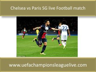 Chelsea vs Paris SG live Football match