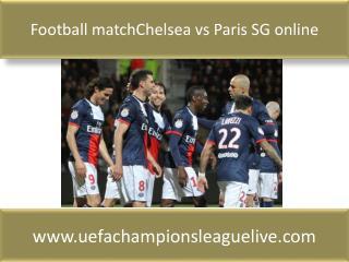 Football matchChelsea vs Paris SG online