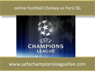 online Football Chelsea vs Paris SG