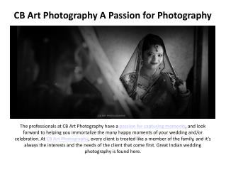 CB Art Photography A Passion for Photography