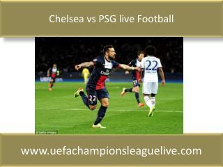 Chelsea vs PSG live Football match