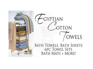 How To Keep Egyptian Cotton Bath Towels Breathable And Fresh